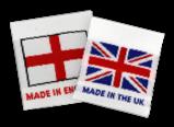 Vävda miniflaggor