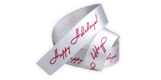 Printed Ribbon - with your logo