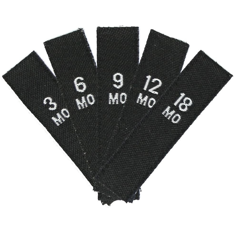 Set di Taglie - Taglie Bambini (3MO - 18MO) Nero