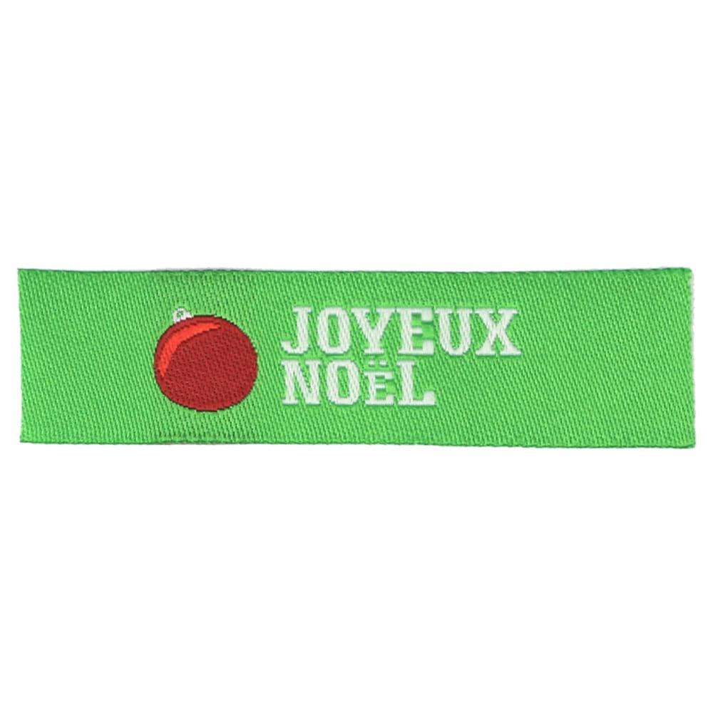 Étiquettes Tissées Noël - Ornement