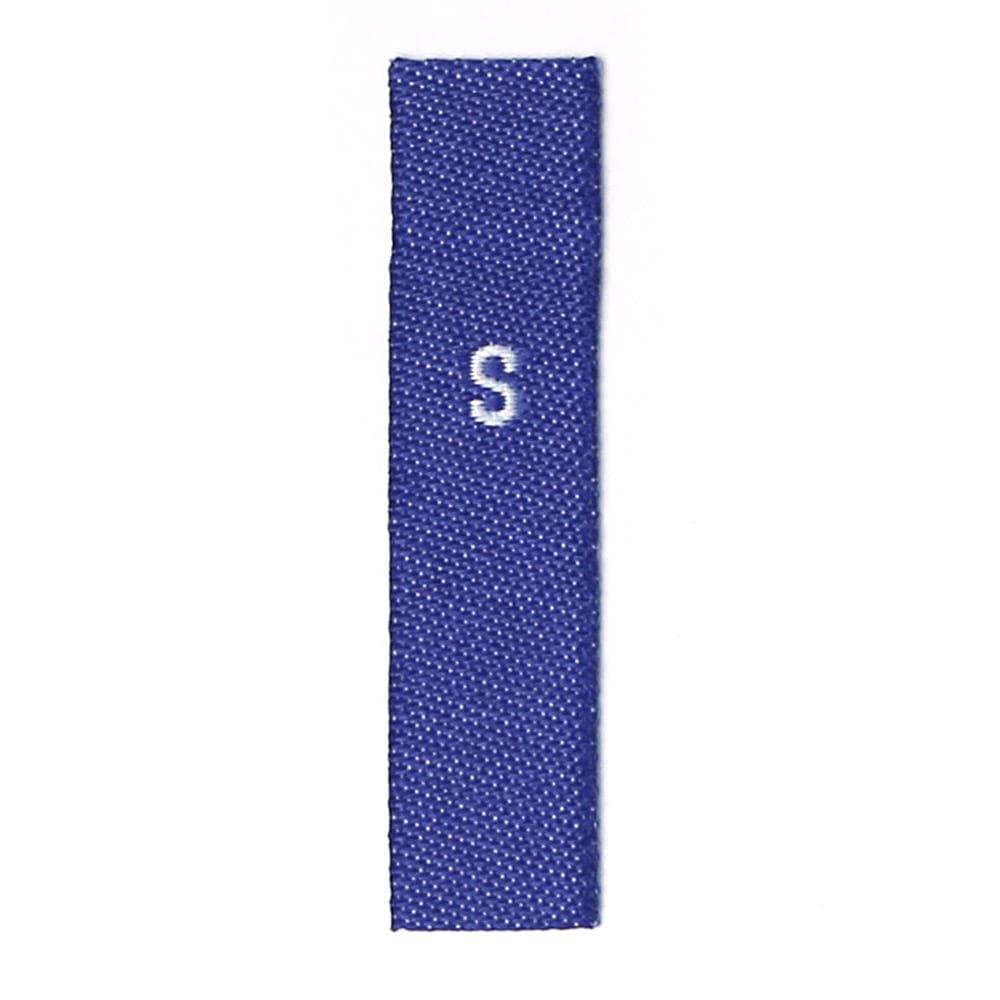 SからF  生地ブルー テキスト白